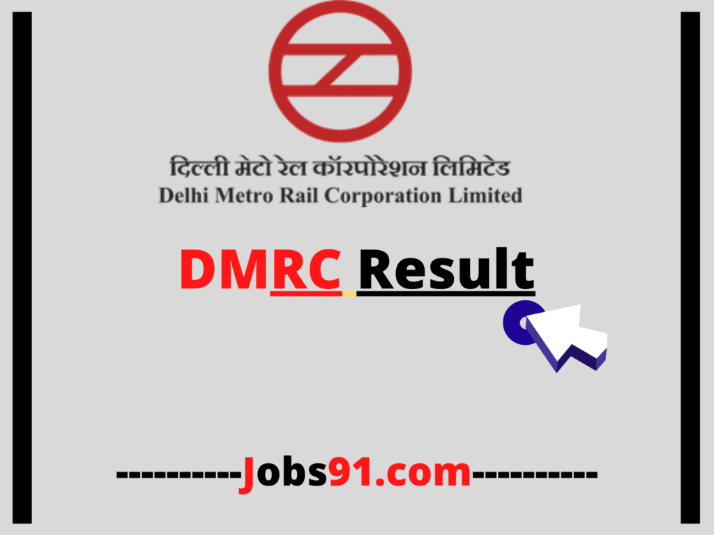 DMRC Result by Jobs91.com
