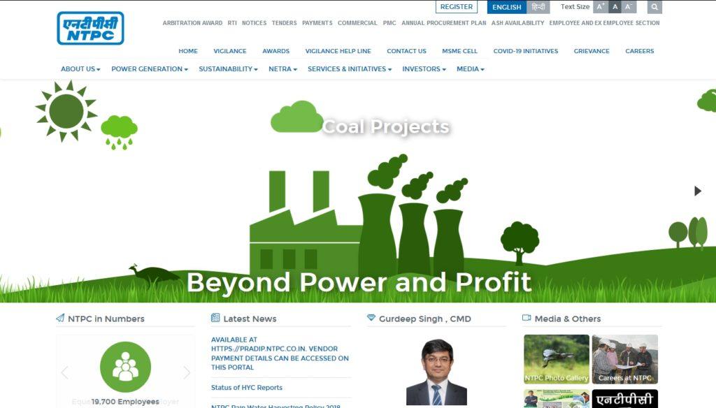NTPC Mine Surveyor Jobs 2020 @ Jobs91.com