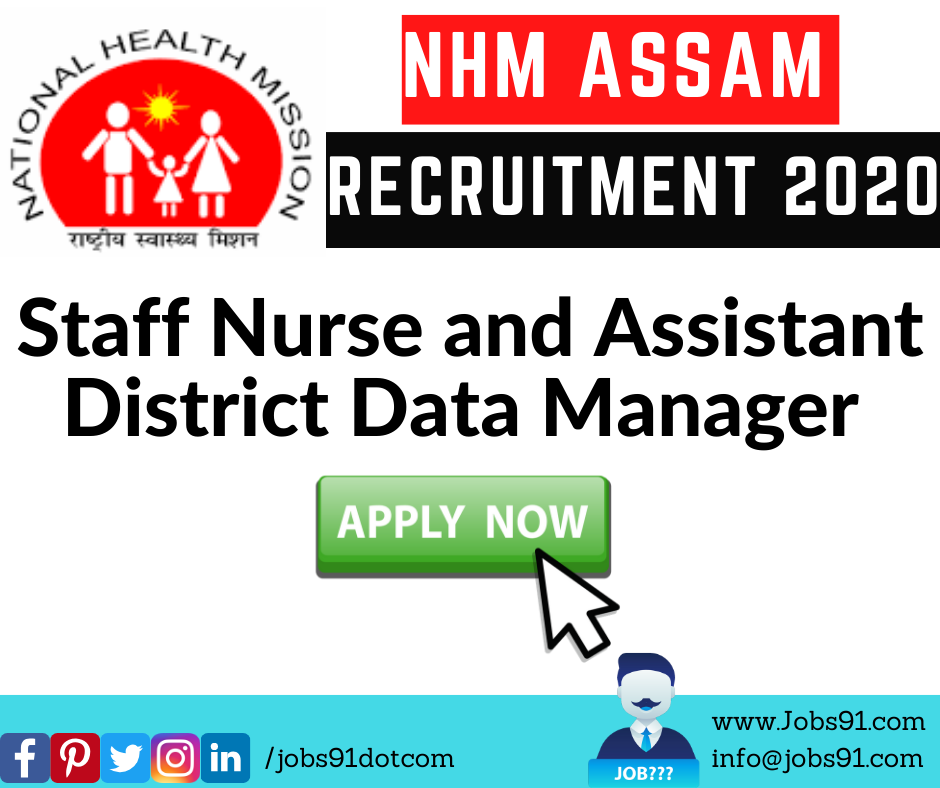 NHM Assam Recruitment 2020 @ Jobs91.com