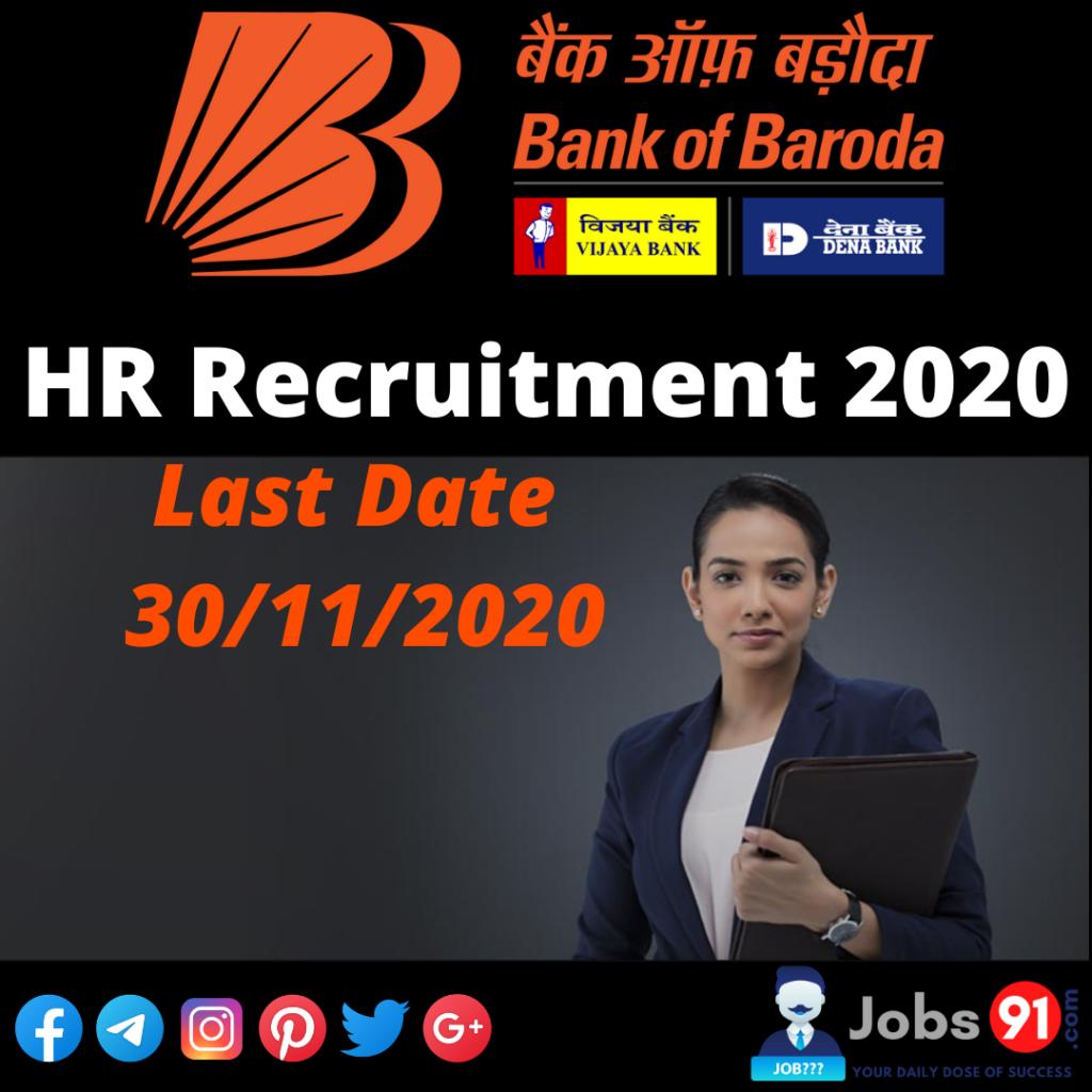 BOB Human Resources Recruitment 2020 @ Jobs91.com